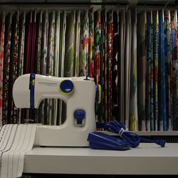 Did you know you could cut your own textiles at IKEA? It's a crafter's paradise.