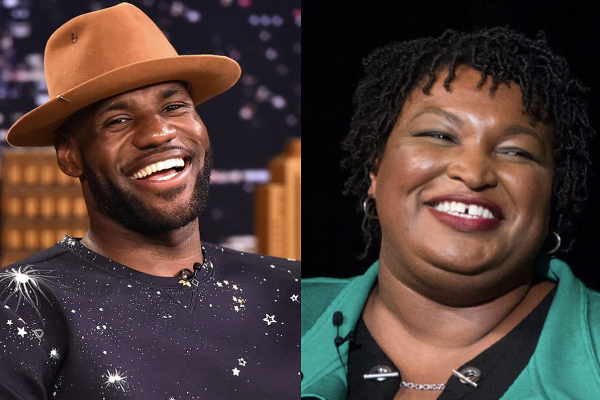 LeBron James, Stacey Abrams