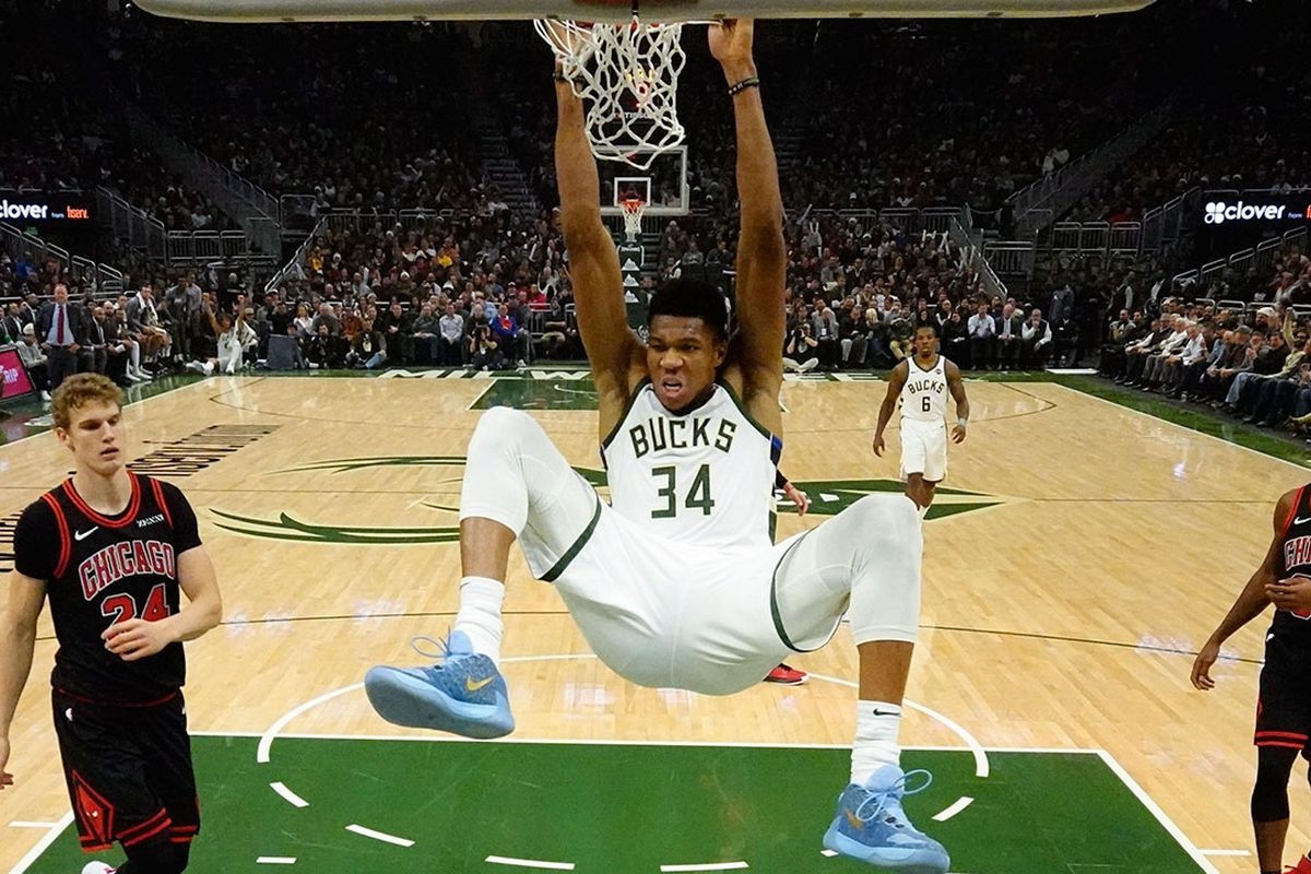 Giannis Antetokounmpo will remain at the heart of the MIlwaukee Bucks' core.