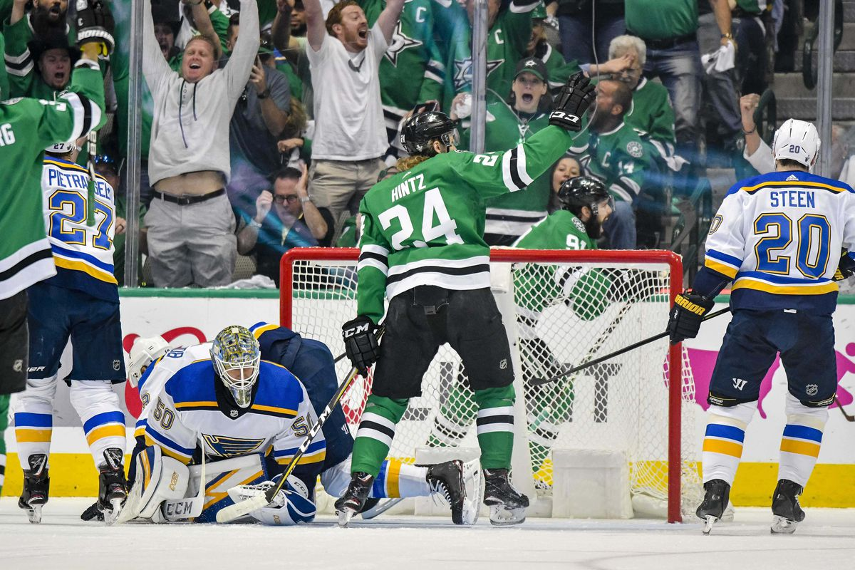 NHL: Stanley Cup Playoffs-St. Louis Blues at Dallas Stars