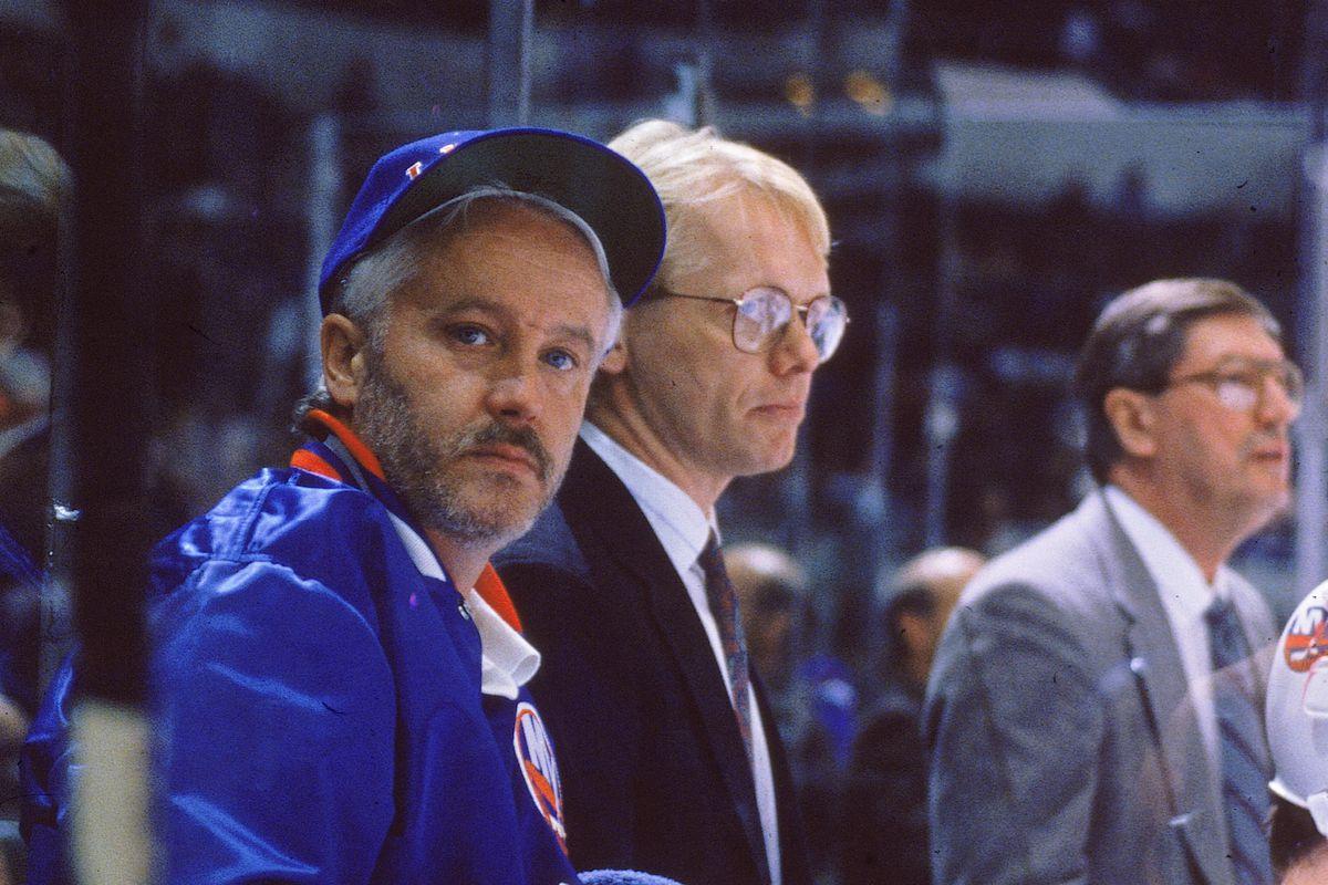 New York Islanders Equipment Manager Jim Pickard At Nassau Coliseum