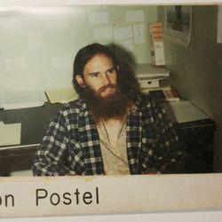Legendary internet pioneer Jon Postel, back in the day
