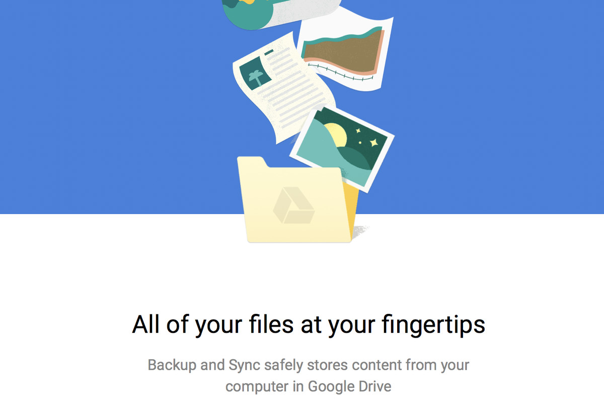 Google's New Backup And Sync Desktop Client Is Now Available