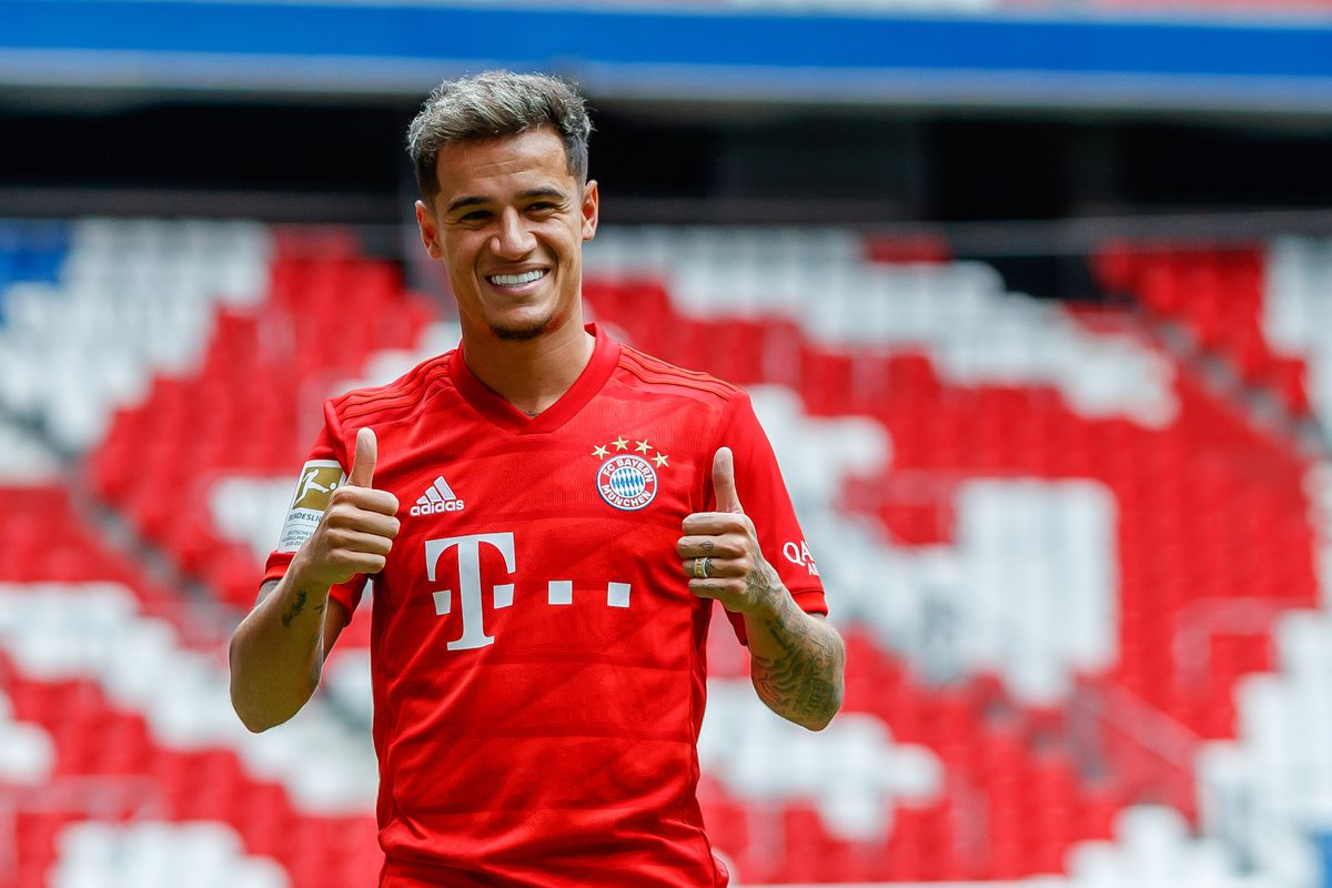 "wholesale dealer b7106 ffcab Philippe Coutinho: ""My favorite position is 10."" Bayern ..."