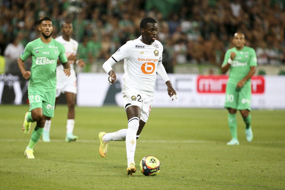 AS Saint-Etienne v Lille OSC - Ligue 1