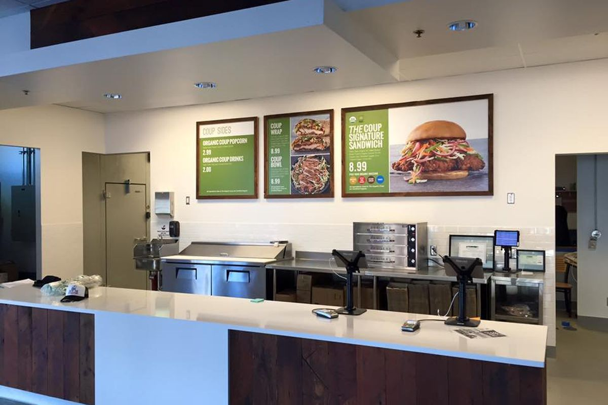 country u0027s first usda certified organic fast food restaurant opens
