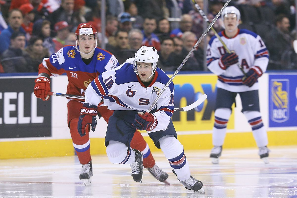USA v Russia - 2017 IIHF World Junior Championships