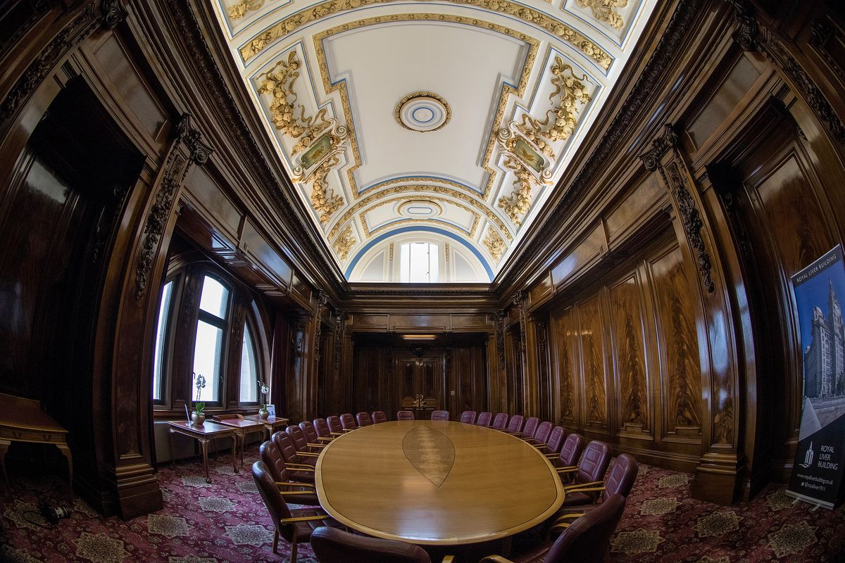 Inside Liverpool's Famous Liver Building