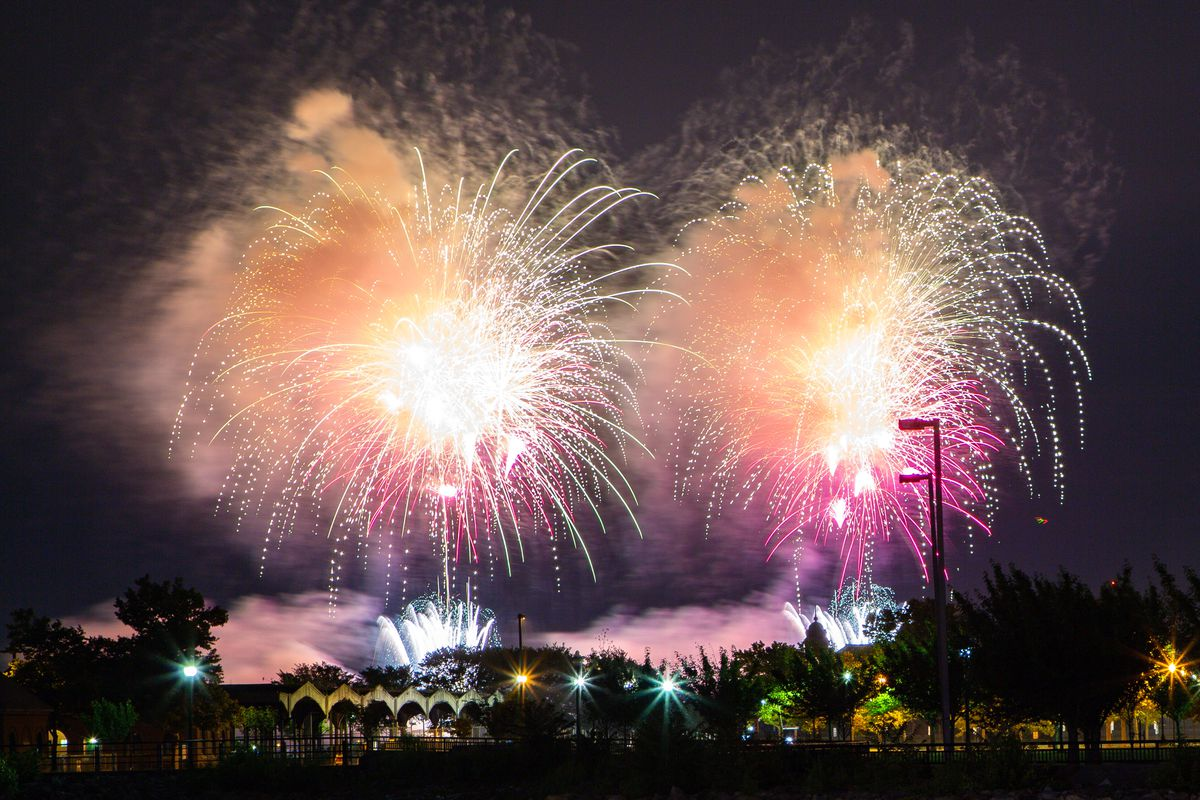 Annual Macy's 4th Of July Fireworks In NYC Spread Out Over Six Nights