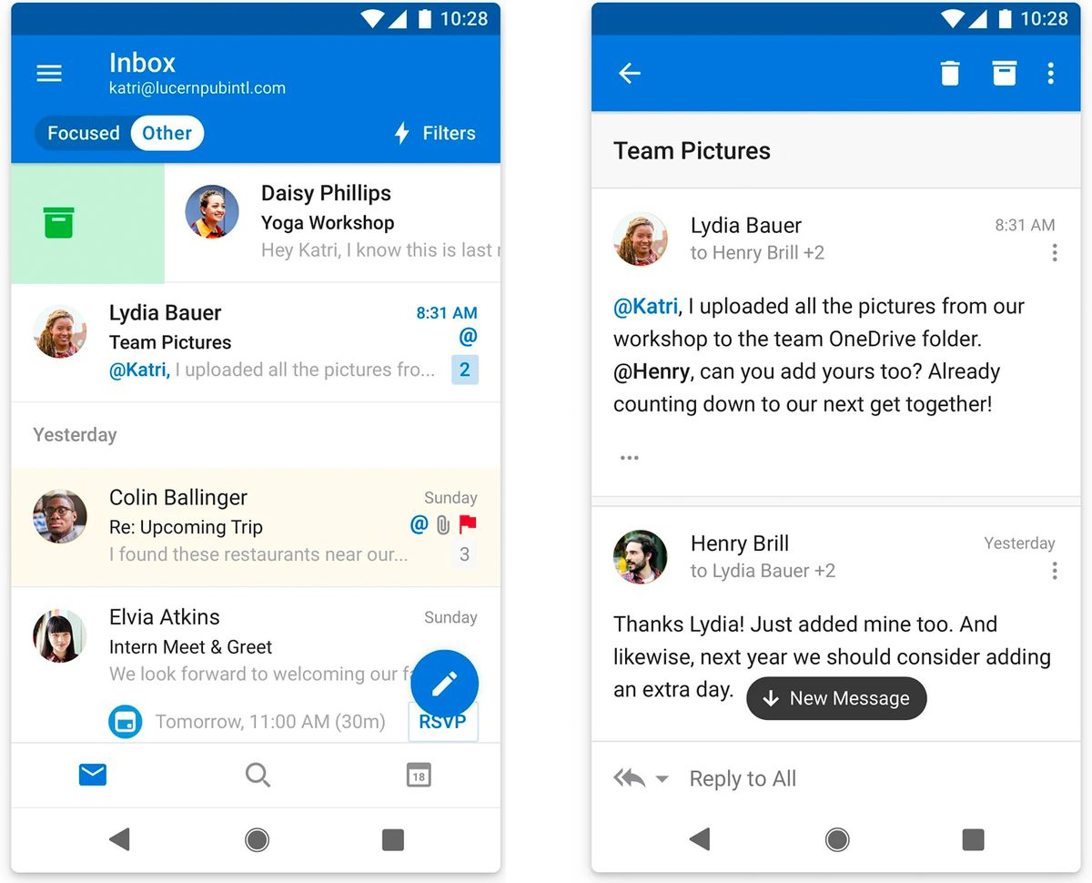 outlook - Listed here are 9 nice apps on your new Android system