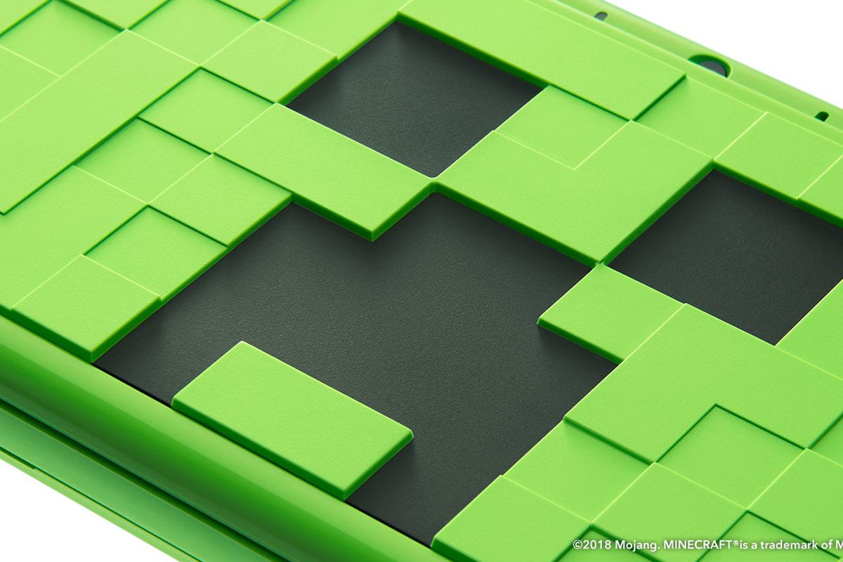 Minecraft Animal Crossingthemed New Nintendo DS XL Out This - Minecraft spiele fur nintendo ds