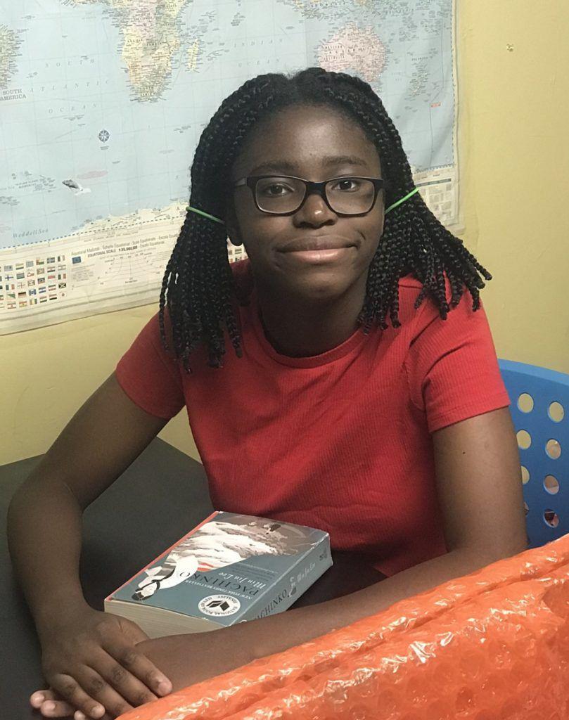 Etana Williams, a student at Brooklyn Technical High School.