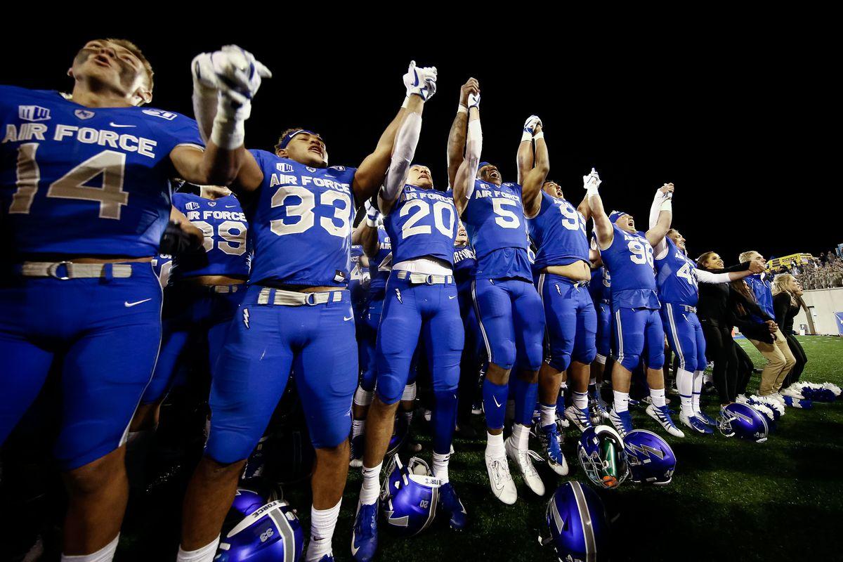 NCAA Football: Fresno State at Air Force