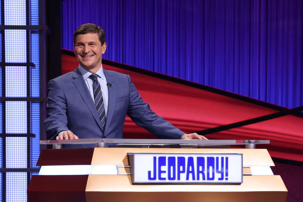 """David Faber, a financial journalist for CNBC, will host """"Jeopardy!"""" from Aug. 2 through Aug. 6."""