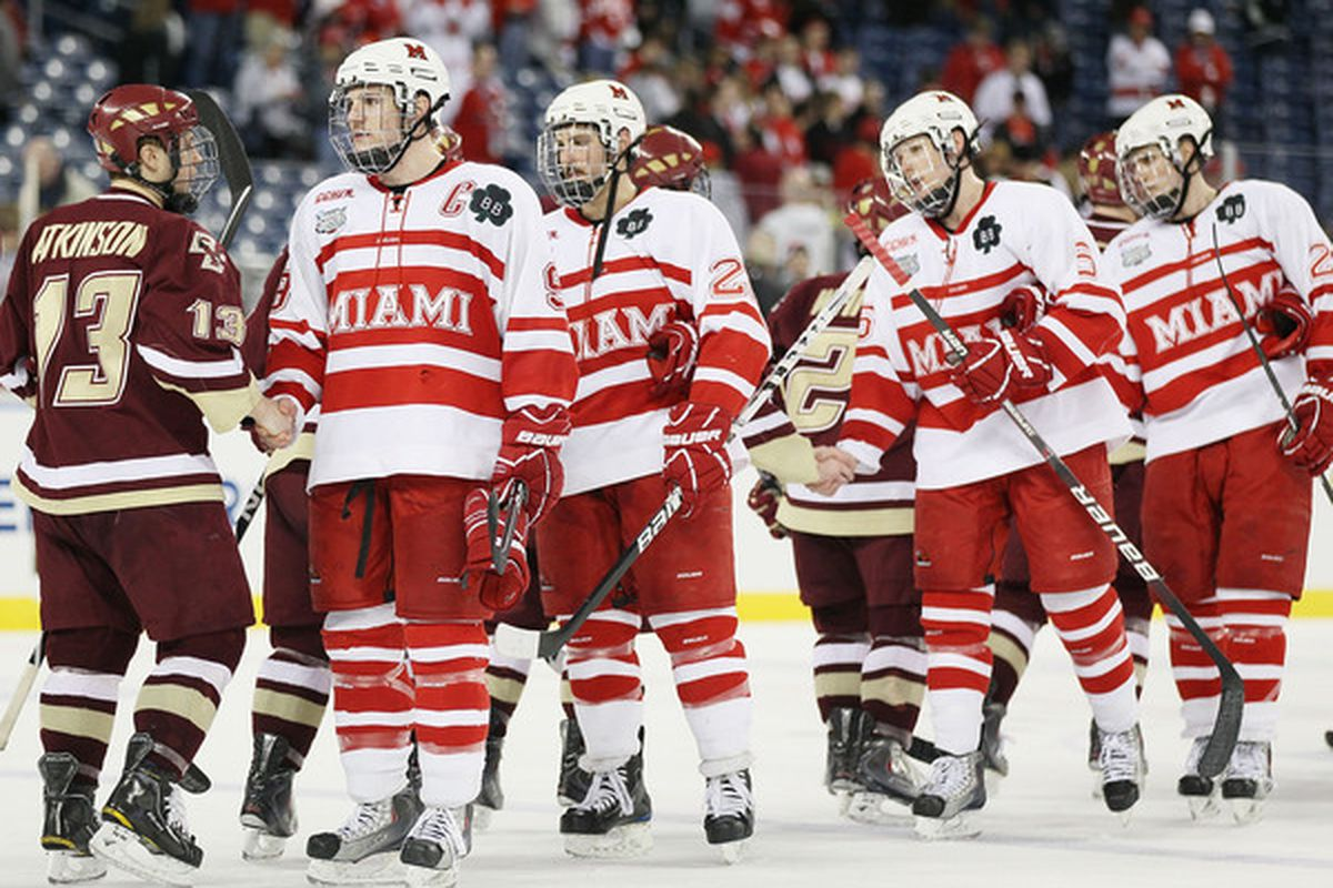 Wisconsin's 2012-13 non-conference hockey schedule is expected to include CCHA power Miami (OH).