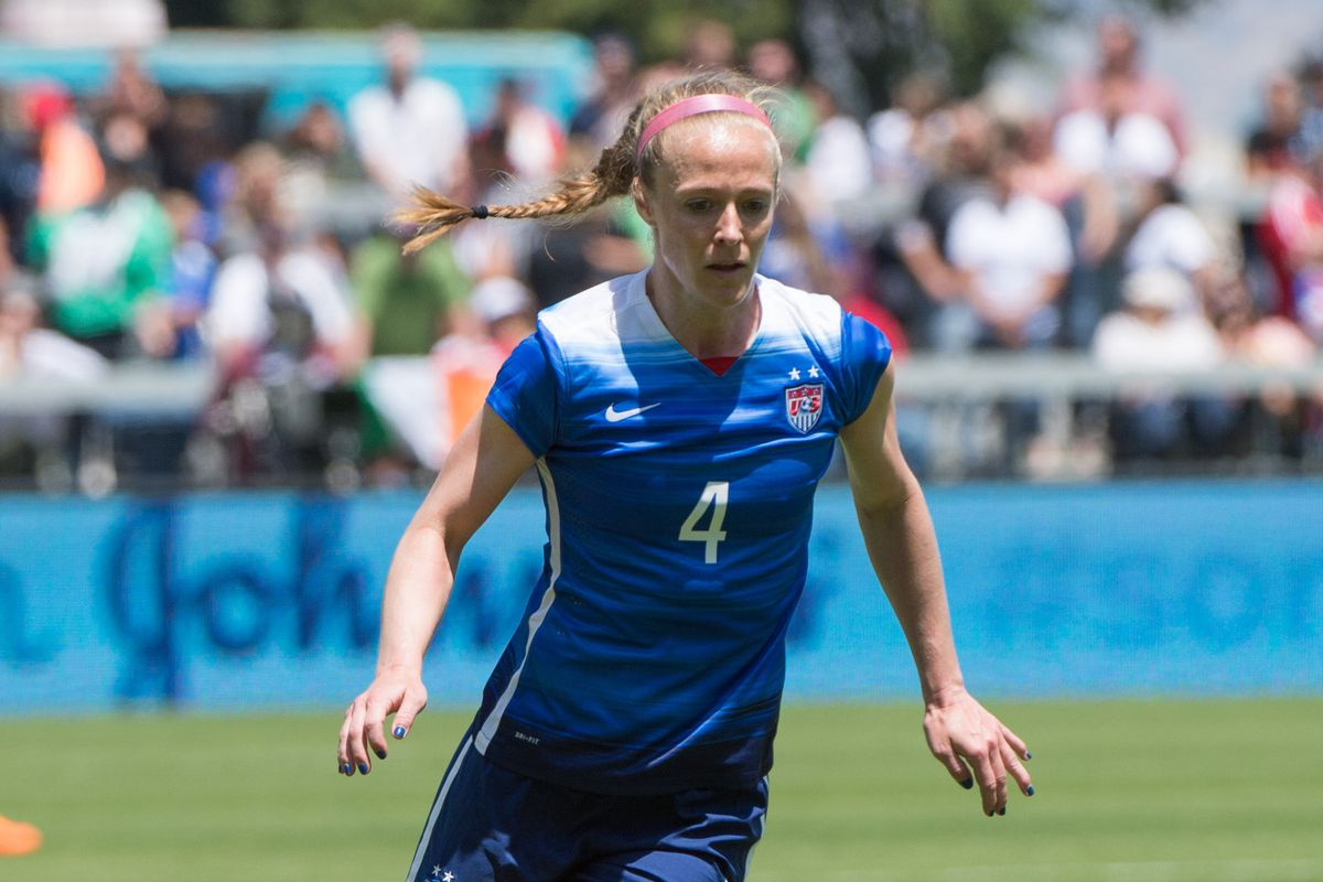Sauerbrunn was the best defender for the US and in the NWSL