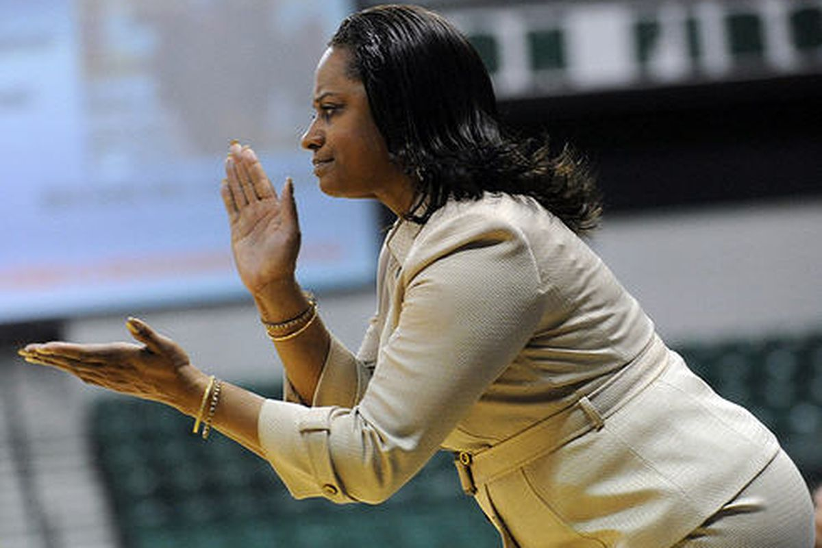 """EMU head coach AnnMarie Gilbert probably won't face anything harsher beyond the self-enforced penalties last year. (via <a href=""""http://www.flickr.com/photos/annarborcom/5535745603/in/set-72157626290471672"""" target=""""new"""">annarbor.com/flickr</a>)"""