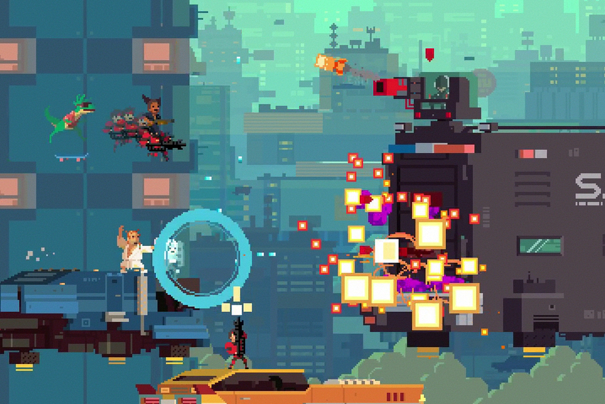 Pixel art games aren't retro, they're the future | The Verge