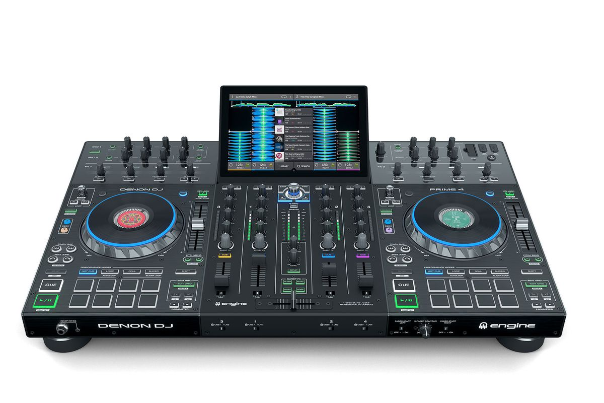 Denon DJ's new four-channel standalone unit shows commitment to