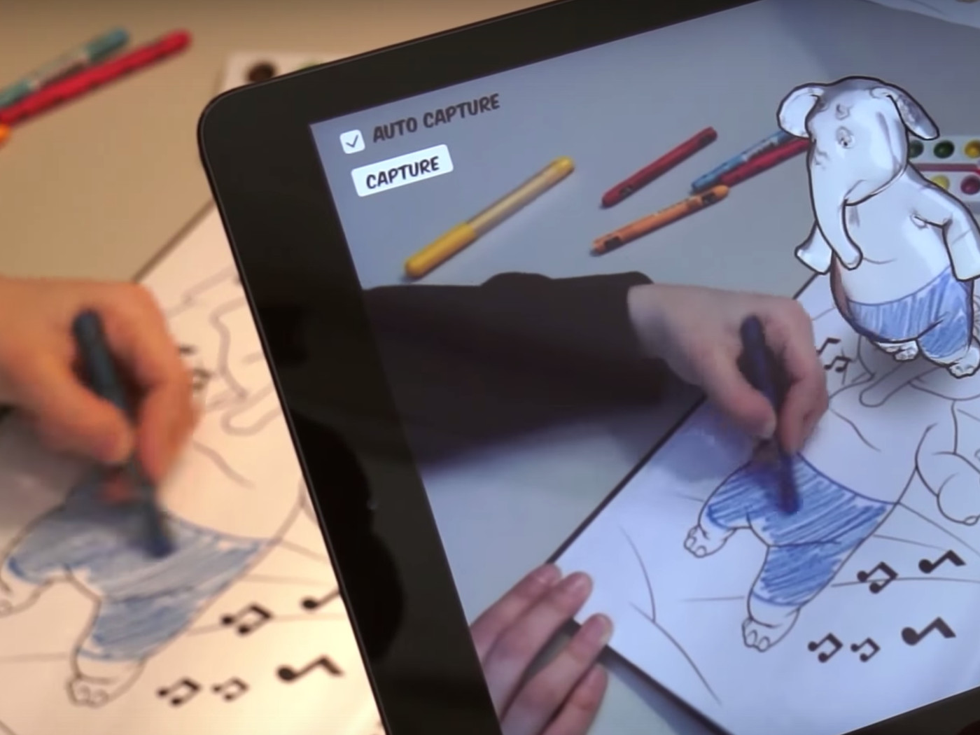 Disney Princess Coloring Pages App : Disney is using augmented reality to bring coloring books to life