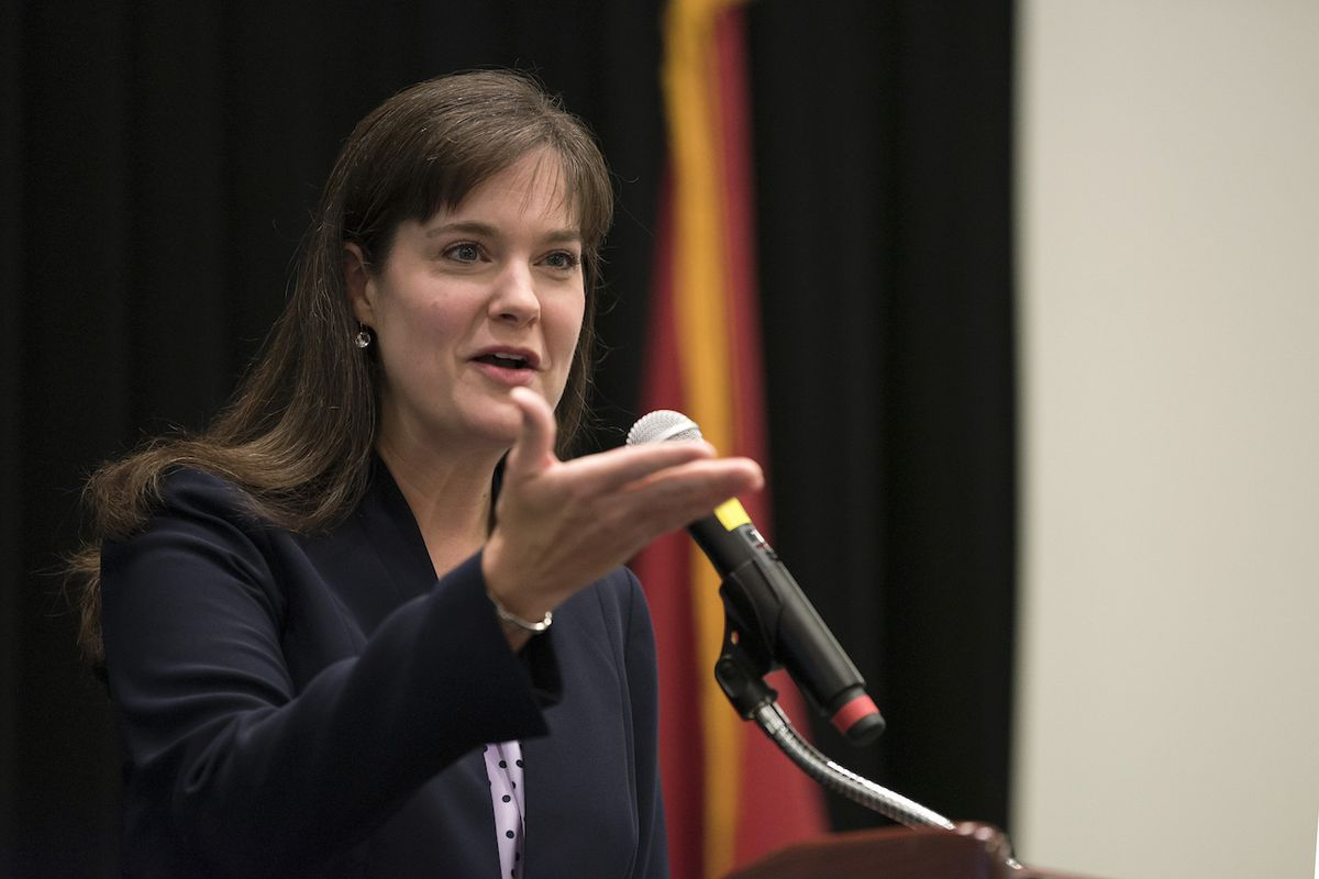 In four years as Tennessee's education commissioner, Candice McQueen has stood by the state's Achievement School District as a school turnaround tool of last resort, even as schools absorbed by the state-run district have generally not improved thus far.