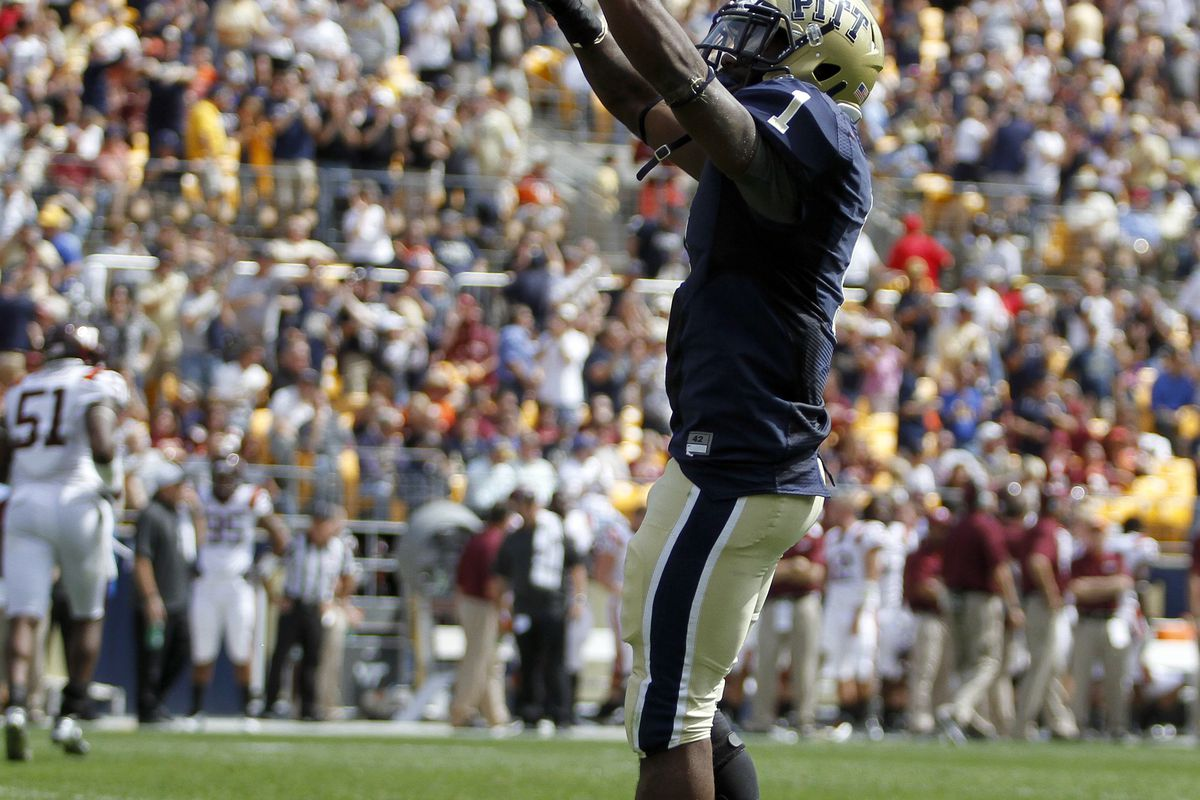 Ray Graham and the resurgent Pitt Panthers evened their record with a 55-10 victory over Gardner-Webb.