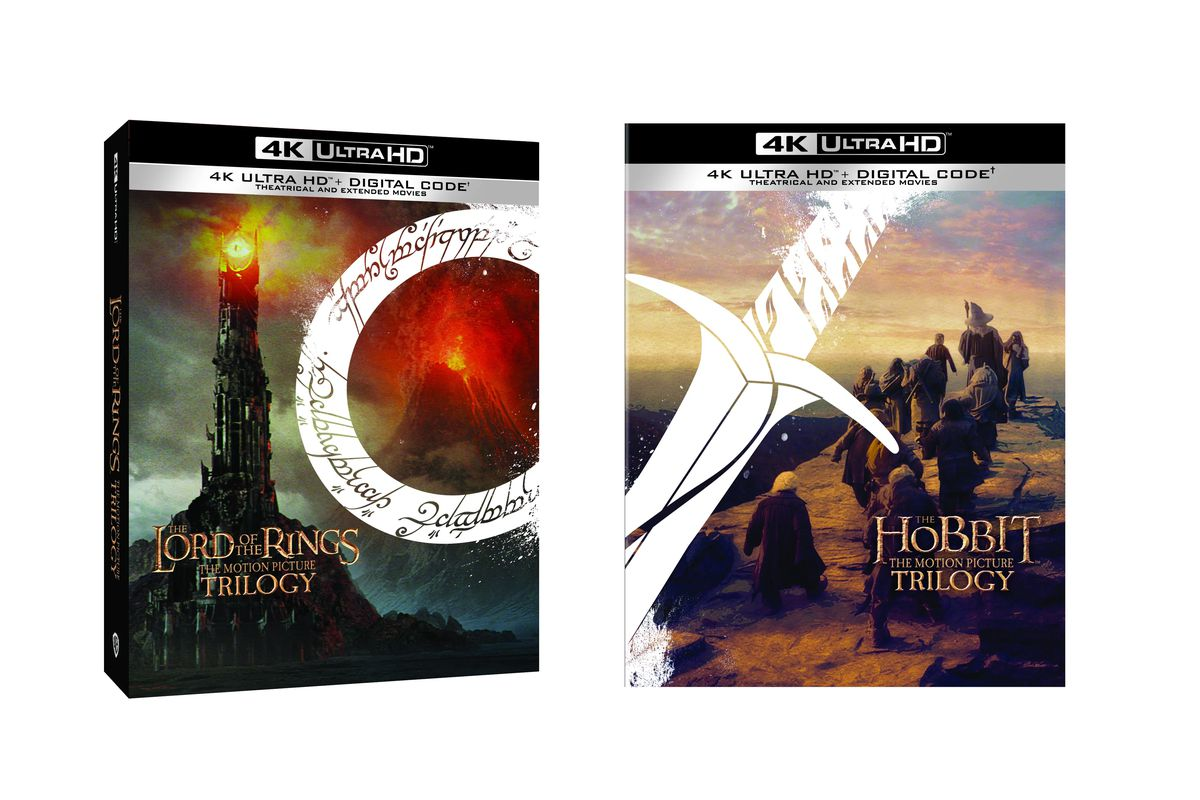 Both The Lord of the Rings and The Hobbit trilogies will be available in 4K December 1.
