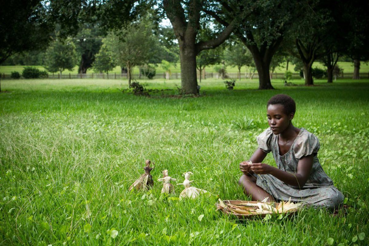 Lupita Nyong'o in the 2013 Best Picture winner 12 Years a Slave