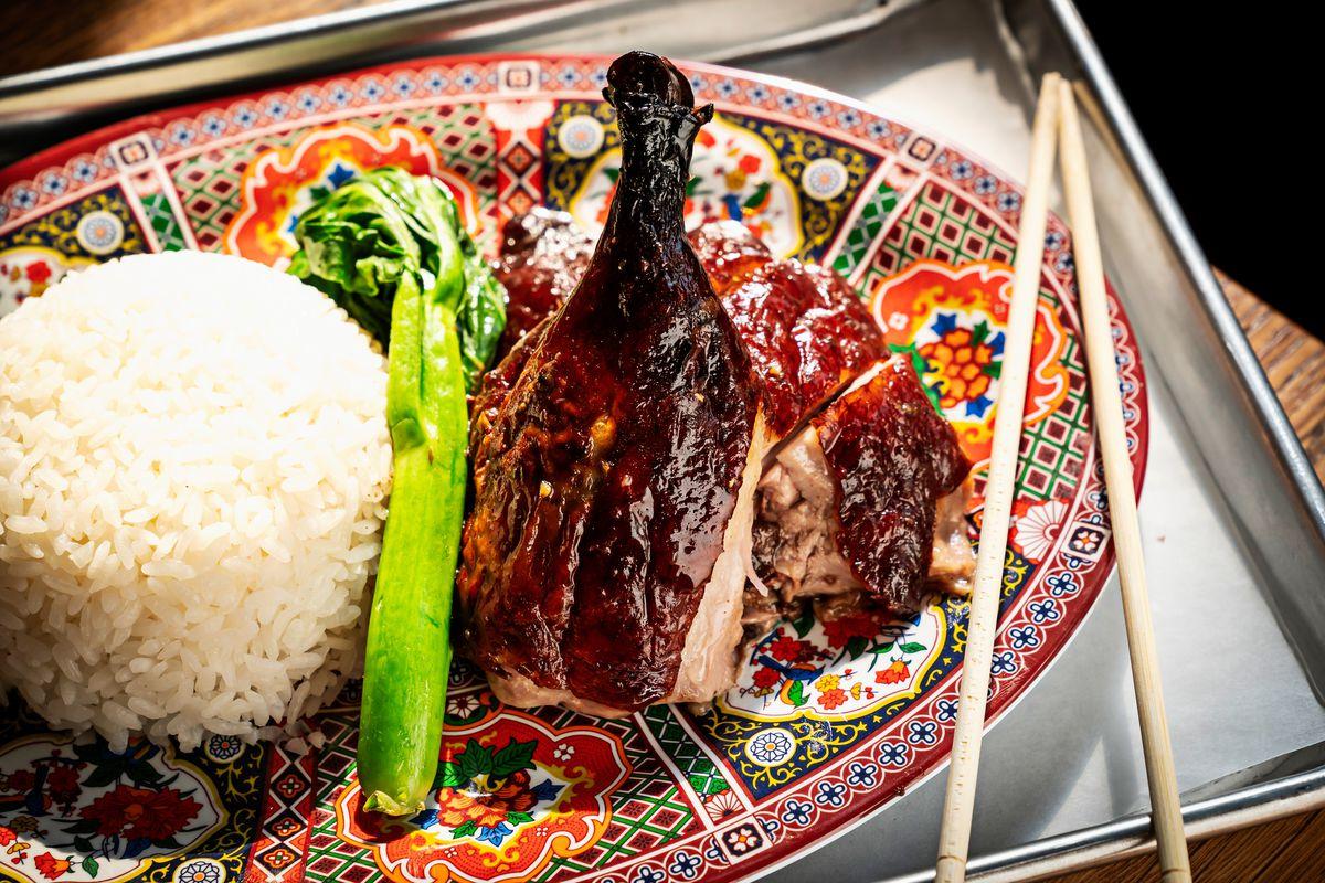 Roast duck from Hei Hei Tiger