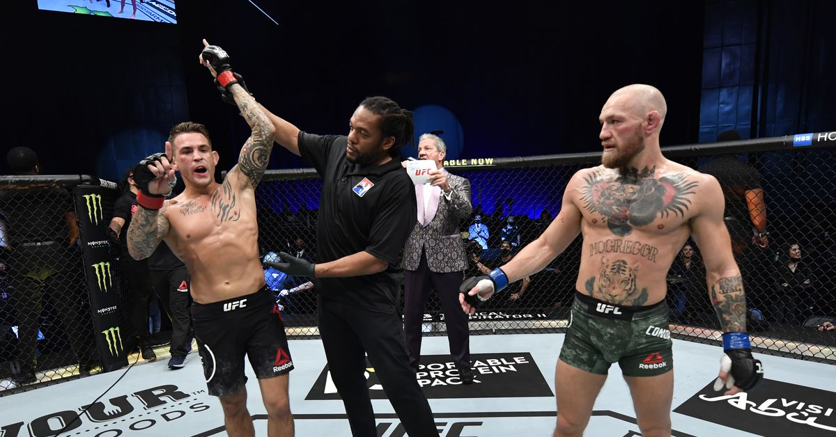 Dustin Poirier vs Conor McGregor 3 opening betting lines for UFC 264