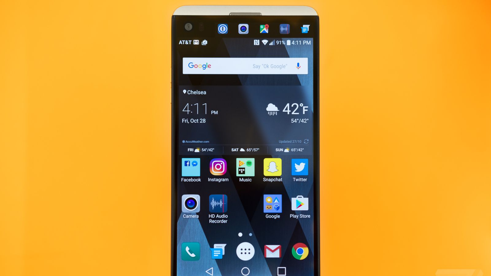 Lg V20 Review Lots Of Features Less Refinement The Verge L20 4gb Black