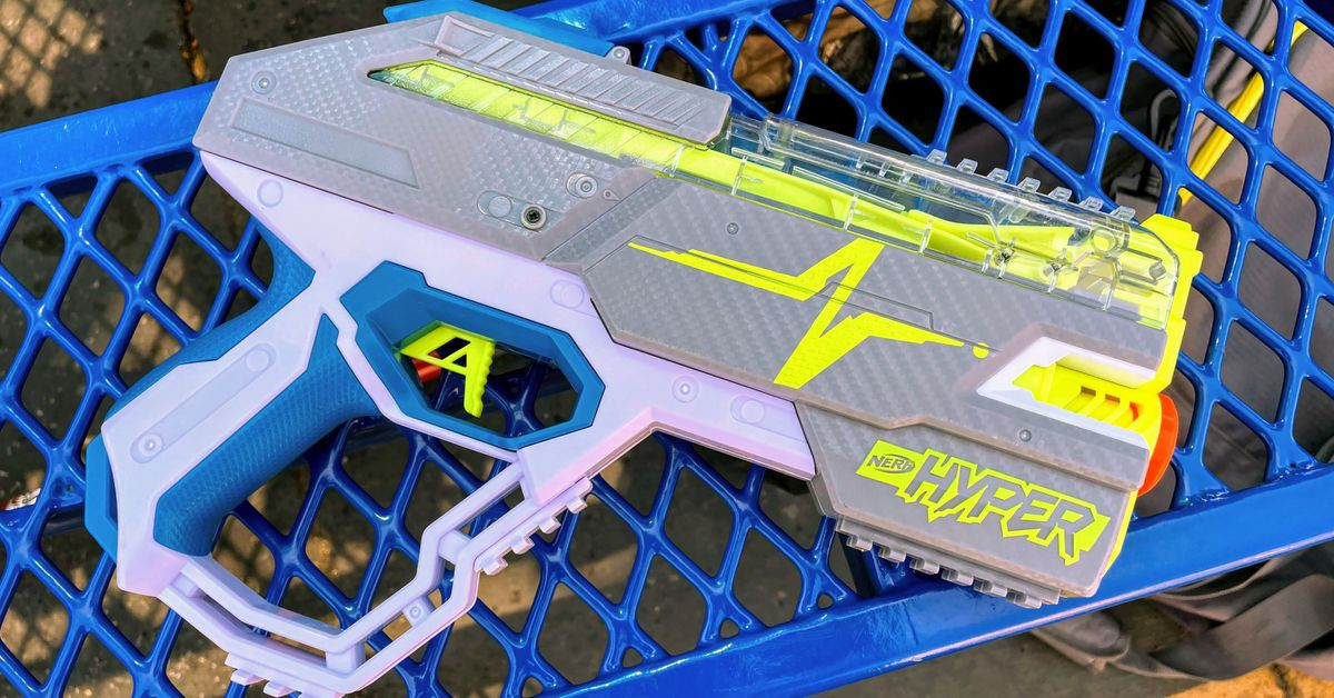 Nerf Hyper review: where the rubber meets the foam