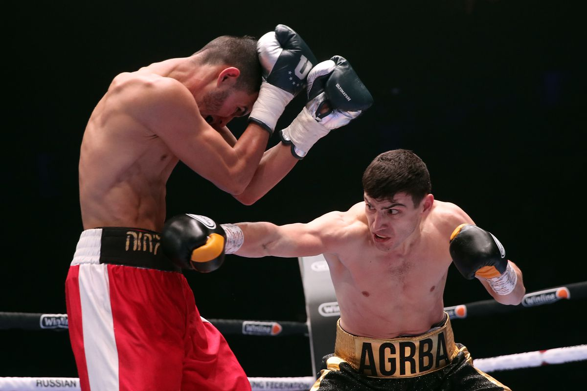 Boxing night in Moscow