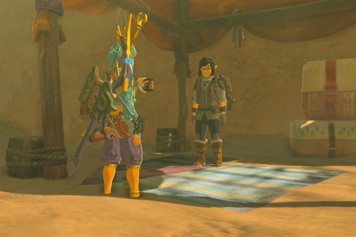 Zelda: Breath of the Wild guide: The Forgotten Sword side