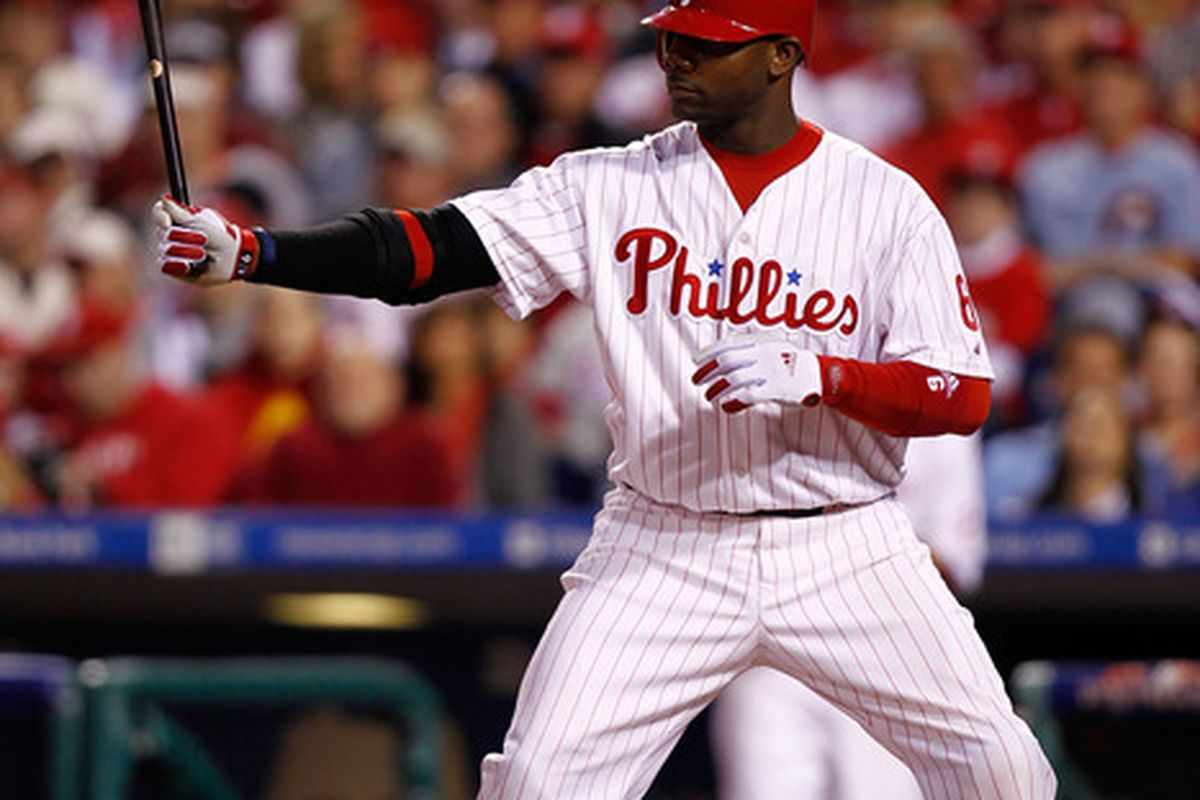 The Big Piece is Back  (Photo by Jeff Zelevansky/Getty Images) *** Local Caption *** Ryan Howard