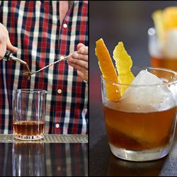 Mixing up an Old Fashioned