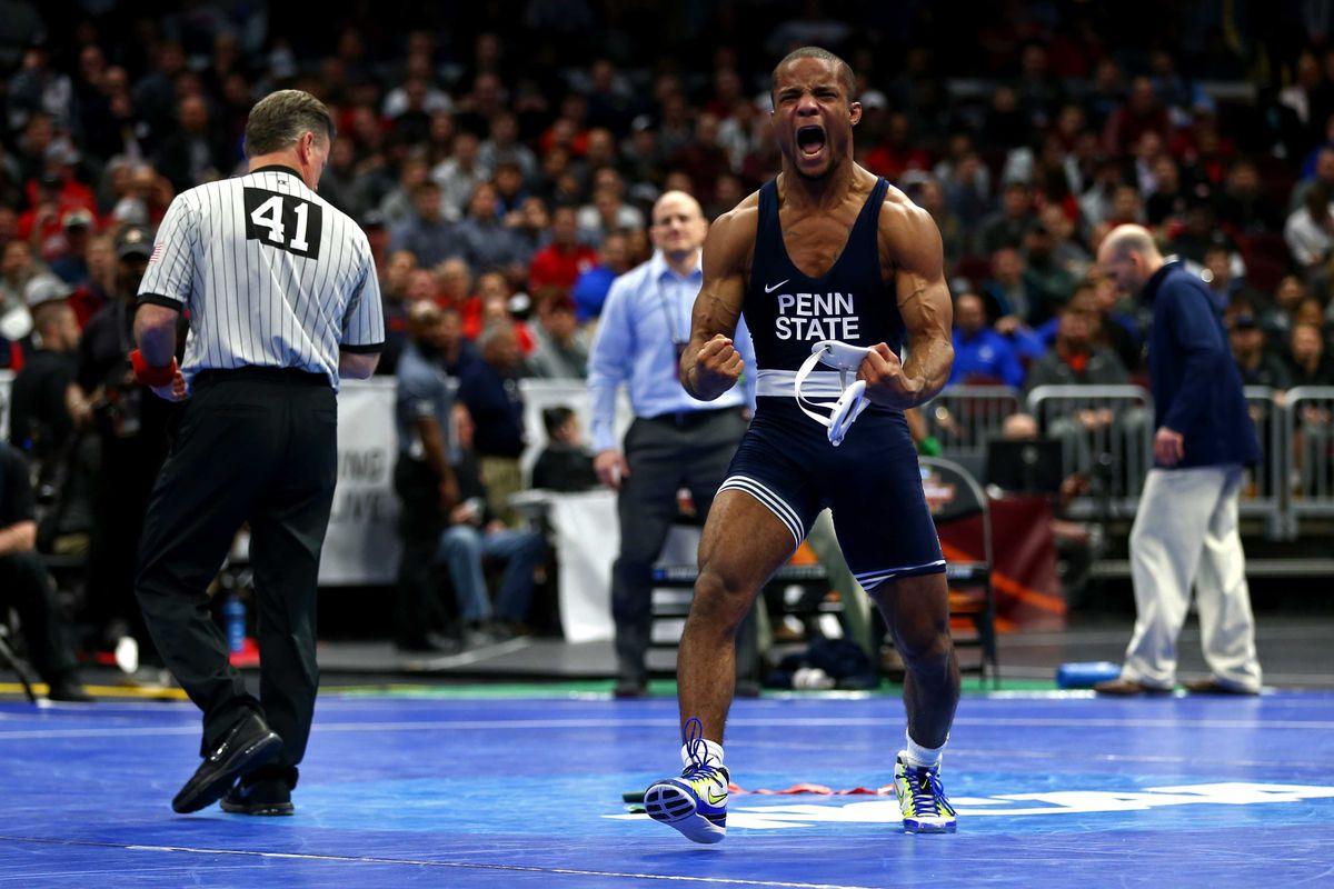 wrestling recap penn state shellacks sun devils black shoe diaries