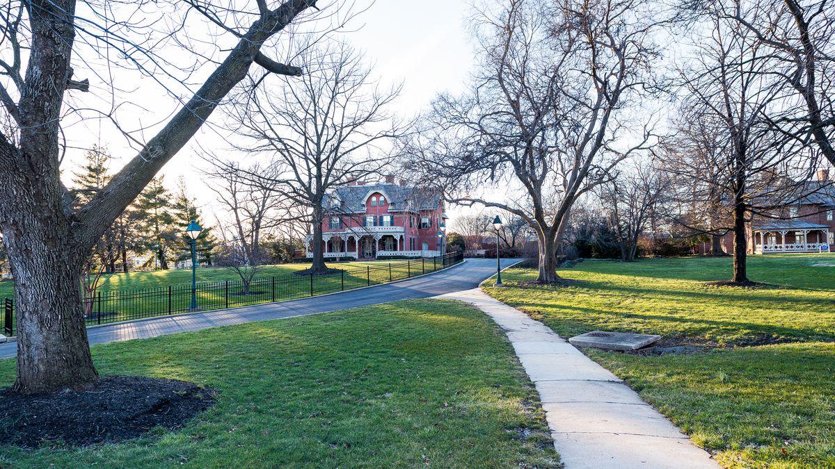 Gallaudet's campus.