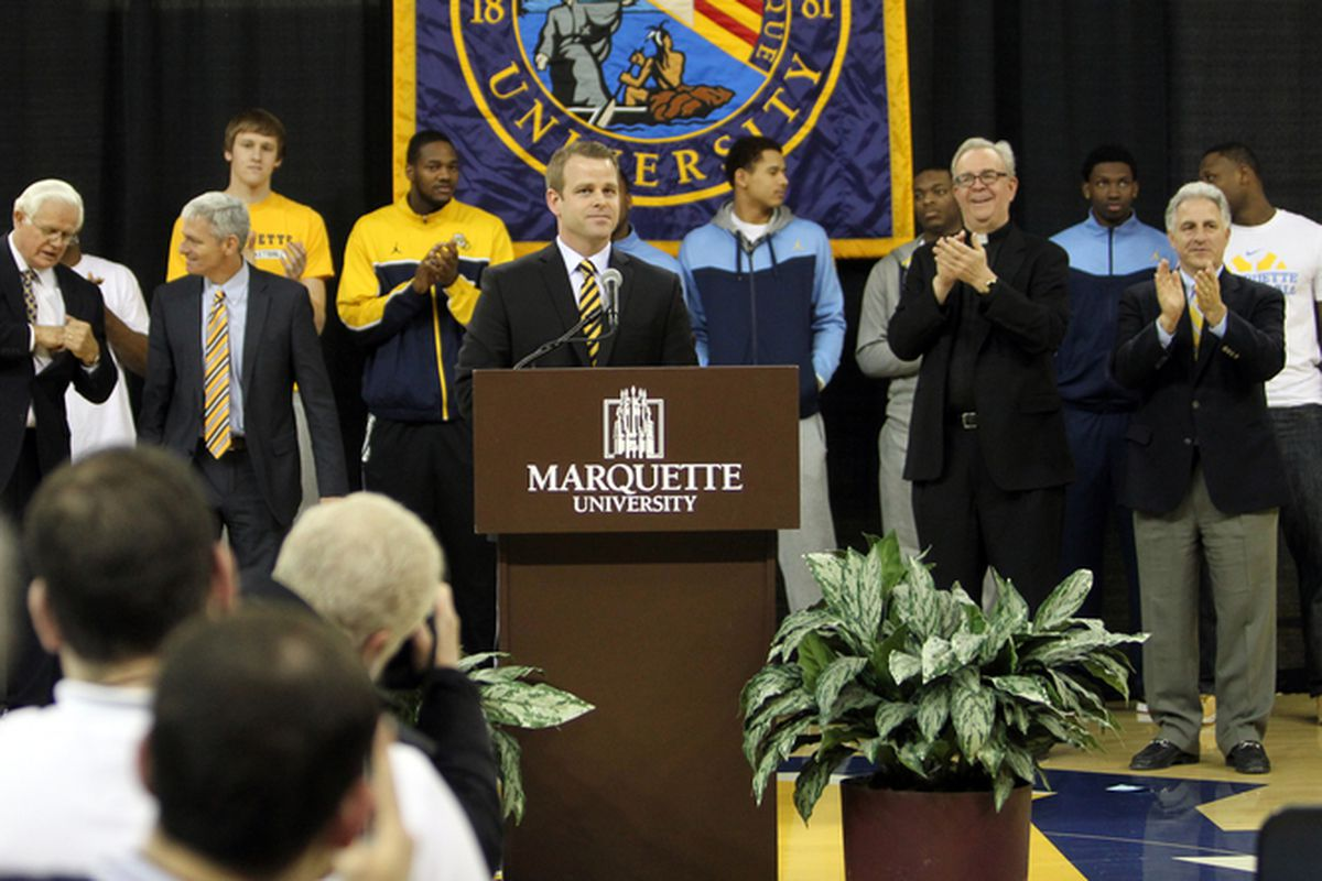 All eyes are on Steve Wojciechowski as he enters his first recruiting signing period as Marquette head coach today.