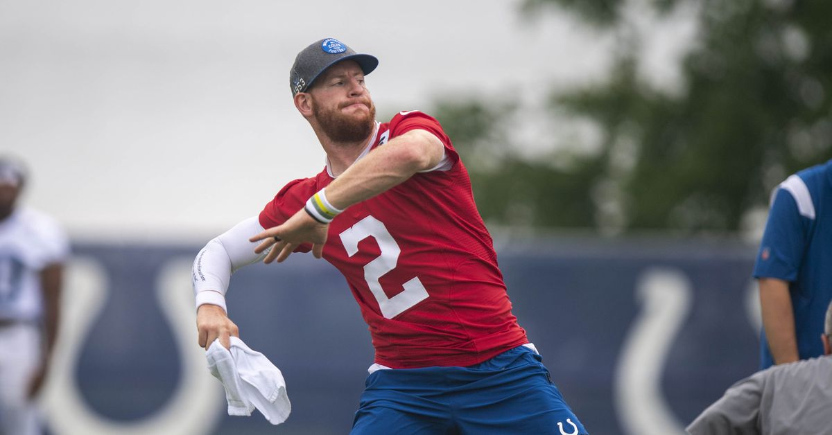 Colts could be without QB Carson Wentz when they host Rams in Week 2