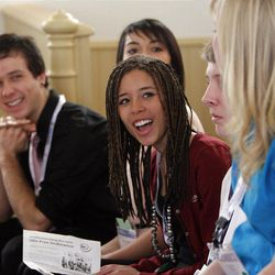 High school student Shae Thompson participates in events developed to spur civic engagement from teens.