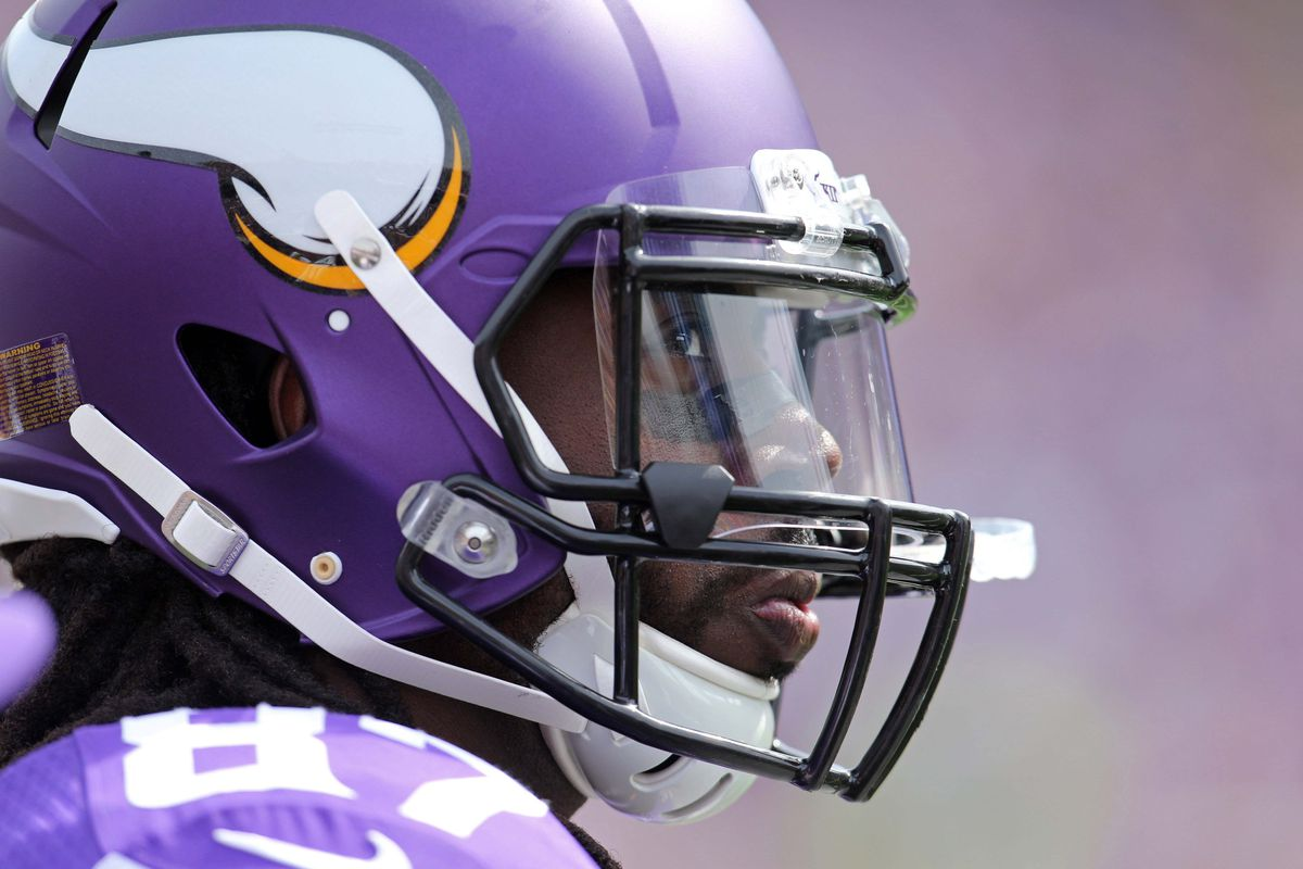 Marqueis Gray had his first catch as a Viking on Sunday.