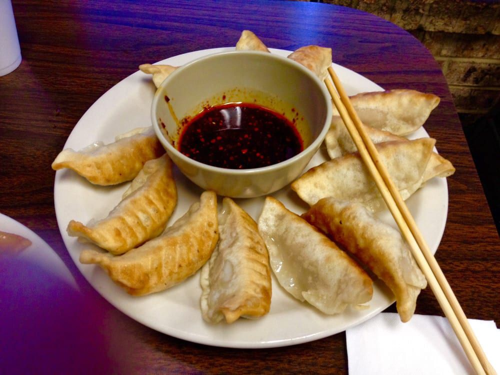 Chen's Noodle House's fried dumplings