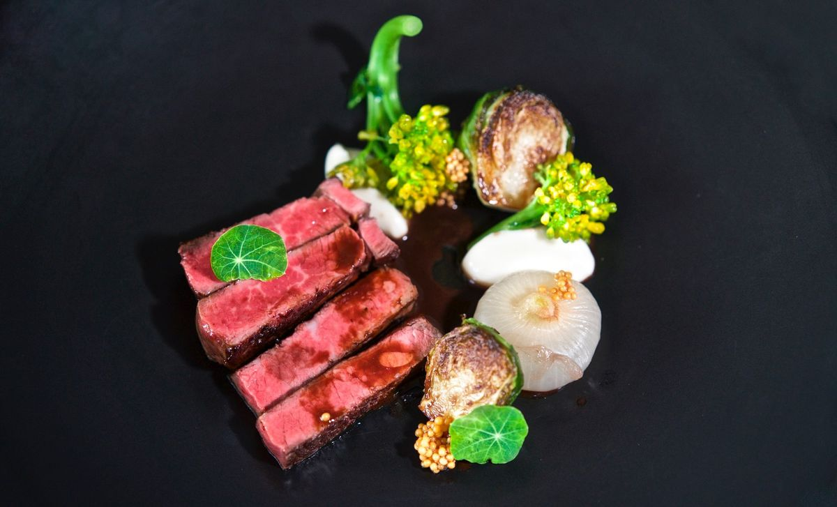 Steak at Marlena
