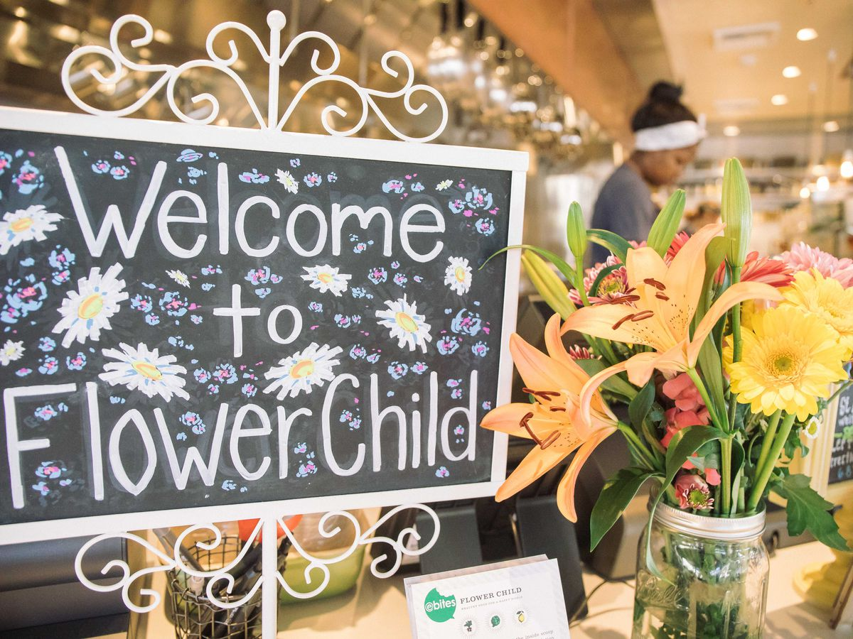 Fast-Casual Flower Child Concept Blooms in Flower Hill Promenade
