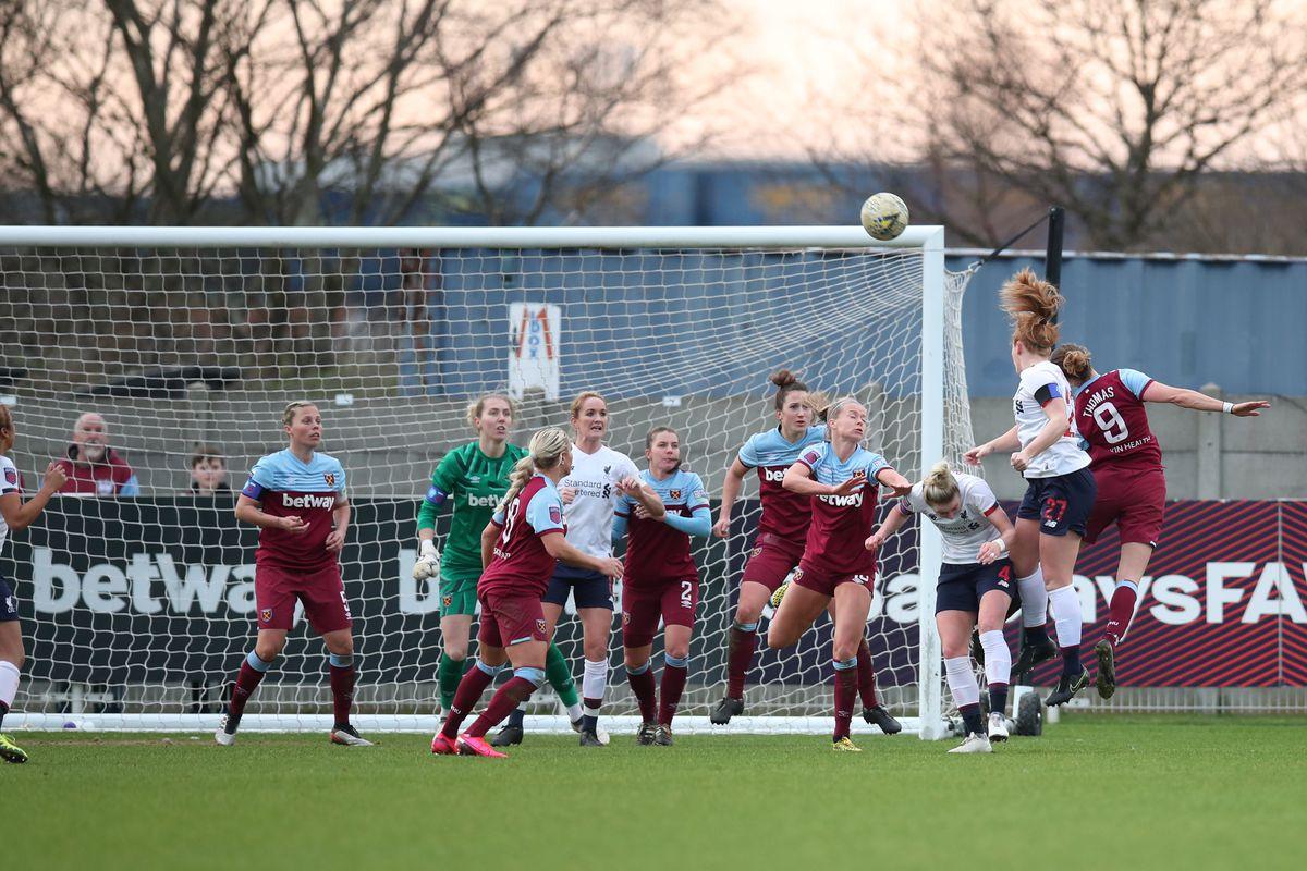 West Ham United v Liverpool - FA Women's Super League - Rush Green Stadium