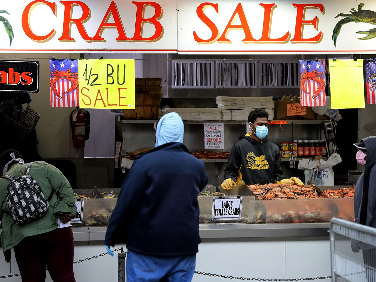 DC Wharf's Fish Market Opens With New Social Distancing Rules