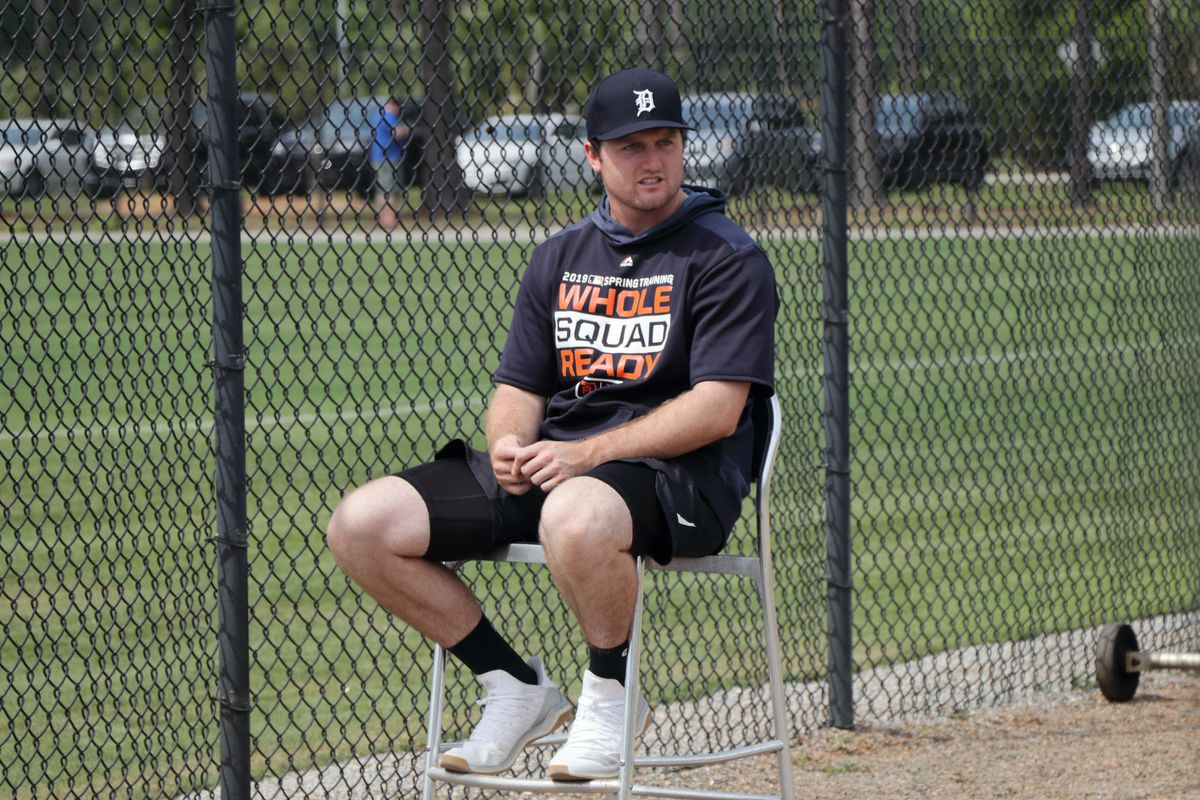 7e7bcb91f Most of the Tigers  bonus pool money for the 2018 draft went to top overall  pick Casey Mize. Adam Dubbin   Bless You Boys