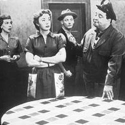 "Joyce Randolph, left, Audrey Meadows, Art Carney and Jackie Gleason starred in ""The Honeymooners."""
