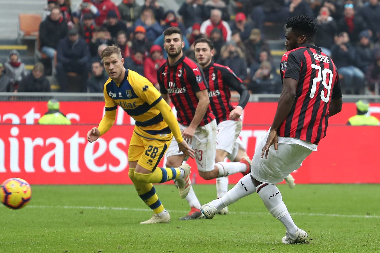 Tactical Review of a Solid AC Milan Victory at Home Versus Parma